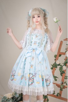 Elk Fairy Sleeveless Sweet Plus Size Lolita JSK Dress