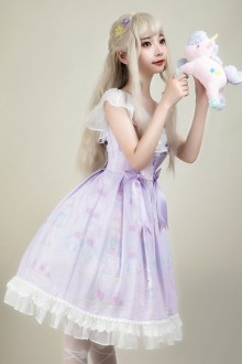Miss Rabbit Sweet Plus Size Lolita OP Dress