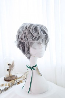 Grace Short Curly Hair Ouji Lolita Wig