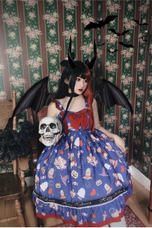 Doll Hospital Halloween Gothic Lolita JSK Dress