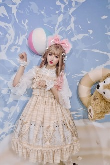 Tabby Kitten Sweet Lolita JSK Dress