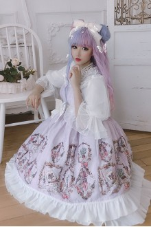 Japanese Vintage Perfume Bottle Classic Lolita Dress