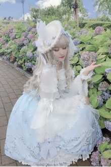 Lily Flower Story Sweet Lolita Wedding Dress