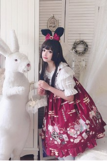 Japanese Cute Rabbit Sweet Lolita JSK Dress