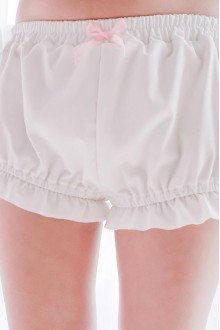 White Lovely Bowknot Lolita Pumpkin Pants