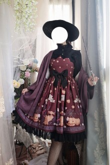 Vampire Cat Gothic Lolita JSK Dress