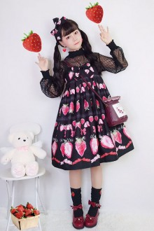 Sweet Strawberry Sweet Lolita JSK Dress