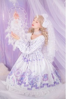 Dreamcatcher Long Sleeve Sweet Lolita OP Dress