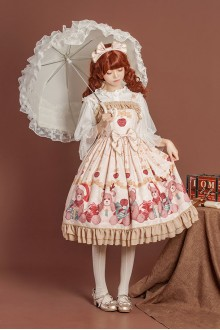 Gift Box Bear Sweet Lolita JSK Dress