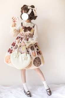 Delicious Cookies Sweet Lolita JSK Dress
