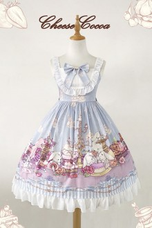 Afternoon Tea Rabbit Sweet Lolita JSK Dress