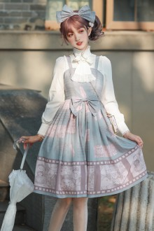 Detective Notes Sweet Lolita JSK Dress