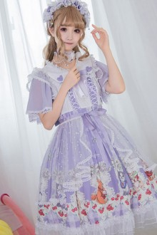 Miss Animal's Flowers Party Series OP Sweet Lolita Dress