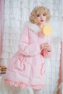 Sweet Loli Long Sleeve Sweet Down Jacket