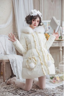 Original Lolita Coat Slim Daily Sweet Lolita Down Jacket