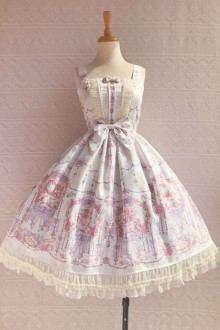 Original Printing New * Small Exquisite * Sweet Lolita JSK Dress 4 Colors