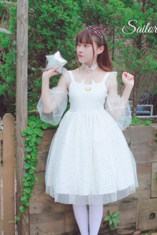 "Original ""Sailor Moon Cat"" Sweet Lolita Dress 2 Colors"