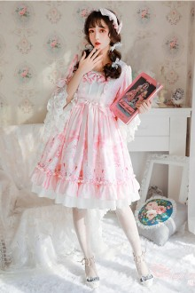 Magic Tea Party <Swan Lake> Original Sweet Lolita OP Dress 2 Colors