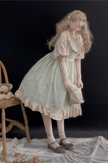 Original Genuine Sweet Lolita OP Dress 3 Colors