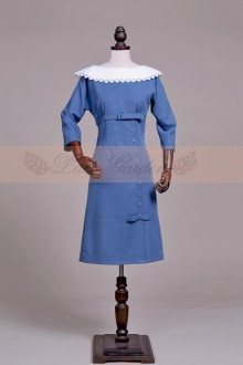 Original Vintage Short Sleeve Skinny Sweet Lolita Dress