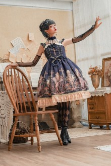 "Original New ""Pole Paradise"" Sweet Lolita JSK Dress"