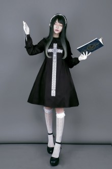 "Original Design ""Cross"" Gothic Lolita dress"