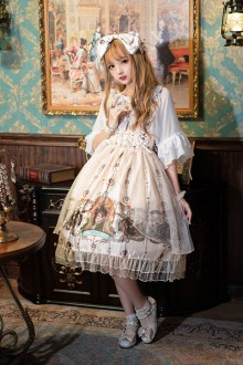 "Original New ""Saibo Gospel"" Retro Sweet Lolita JSK Dress 2 Colors"
