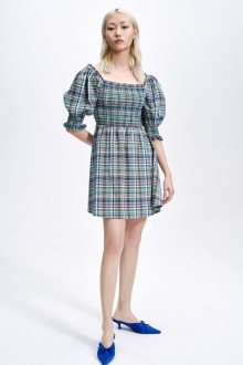 Original And Innovative Simple Check Sweet Lolita Dress