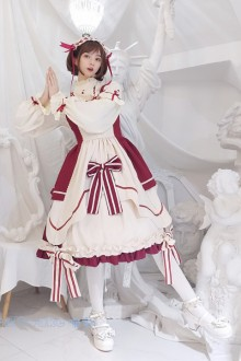 Original Red Daily Sweet Lolita Dress