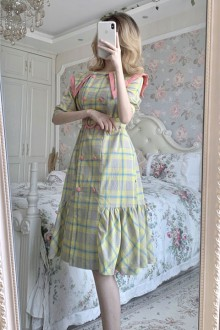 "Original 2020 New ""Small Fragrance Style "" Sweet Lolita Dress"