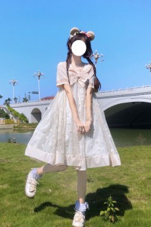 2020 Summer New Daisy Sweet Lolita Dress 2 Colors
