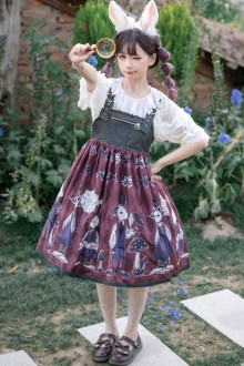 "Original ""Poisonous Mushroom"" Anniversary Gothic Lolita JSK Dress 2 Colors"