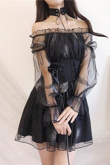 "Original Design ""Starry Night"" Gothic Lolita Dress"