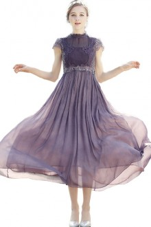 Original 2020 New Victorian Retro Chiffon Lolita  Classic Dress 2 Colors