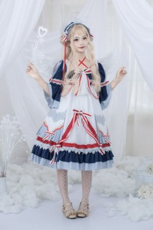 Original Genuine Blue Chinese Style Sweet Lolita Dress