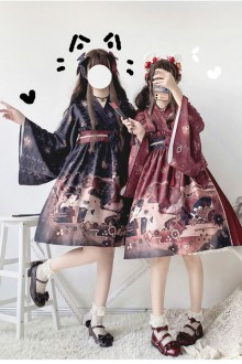 "Original  Japanese ""Miki Sakurai"" Sweet Lolita OP Dress 2 Colors"