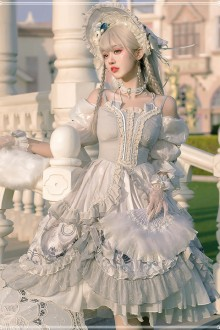 Original Design <Rozen Maiden> Retro Classic Lolita OP Dress