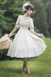 Original Design Elegant <Carol Manor> Classic Lolita Dress 3 Colors