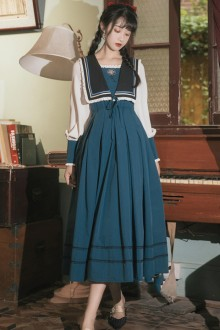 Original 2021 New <Piano Princess> French Classic Dress