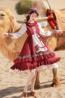 2021 New Original <Desert Style> Classic Lolita Op Dress