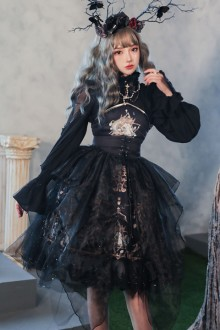 Original New <God Salvation> Retro Gothic Lolita JSK Dress