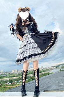 Original Genuine <Mirror Girl> Gothic Lolita JSK Dress 2 Colors