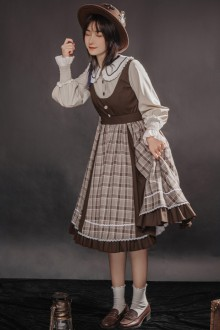 Original Design <Autumn Leaves> Sweet Lolita OP Dress