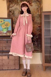 Original Design New Slim And Sweet Lolita OP Dress 2 Colors