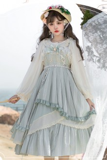 Original Design <Thinking Of Cloud> Chiffon Sweet Lolita JSK Dress