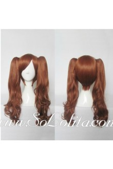 Lolita Wig Curl Sweet Golden Brown Medium