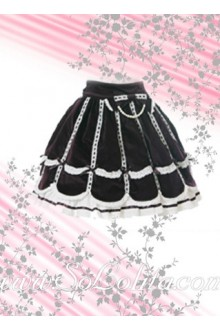 Purple Mini Pleated Lovely Lolita Skirt