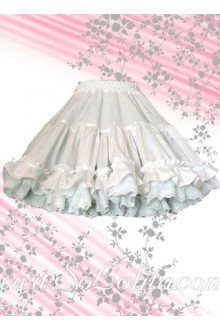 Kawaii and Sweet Ruffle Puff Flounce Lolita Skirt