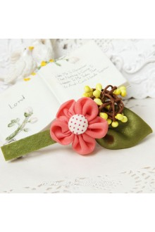 Lolita Sen Department Fresh Lovely Pink Flower  Barrette