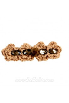 Lolita Sen Department Vintage Woolen Flower Barrette